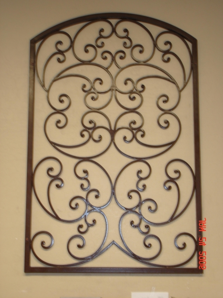 Iron Gate Wall Art Intended For Preferred Tuscan Wall Art Iron Artwork #firstimpressions (View 12 of 15)