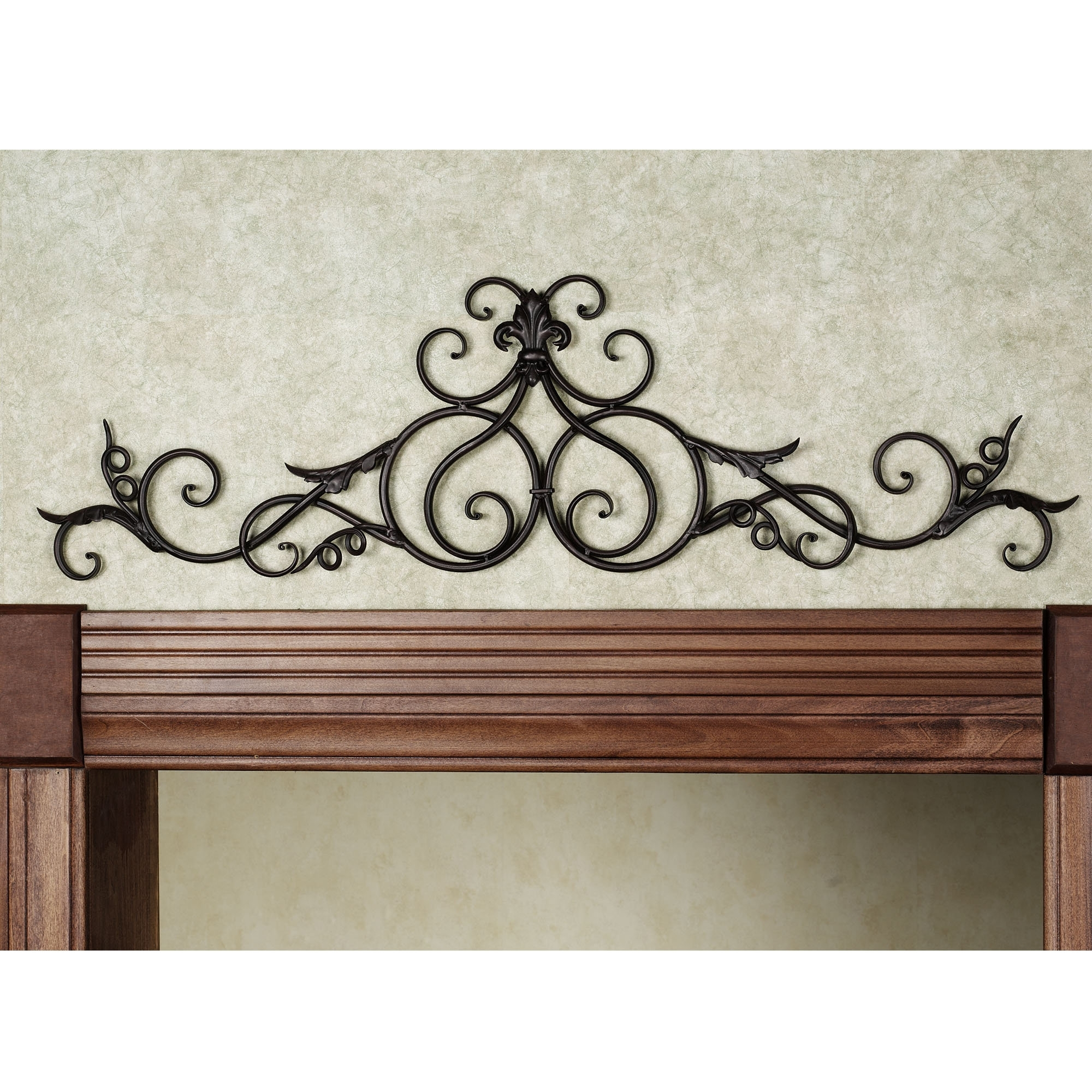 Iron Scroll Wall Art Pertaining To Popular Magnificent Iron Scroll Wall Photos – Best House Designs Photos (View 4 of 15)