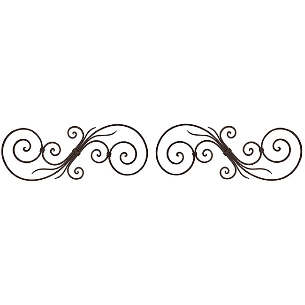 Iron Scroll Wall Art With Regard To Trendy Download Scroll Wall Art (View 15 of 15)