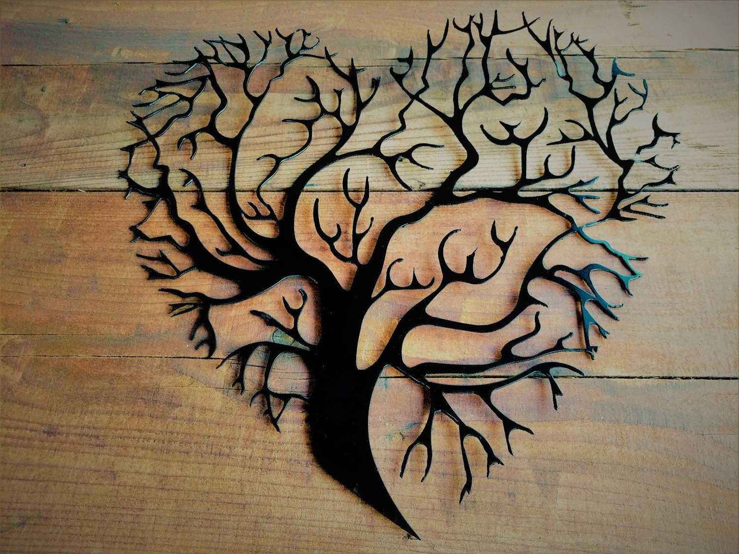 Iron Tree Wall Art Within Most Current Metal Tree Of Life, Metal Tree Wall Art, Tree Wall Decor, Tree (View 5 of 15)