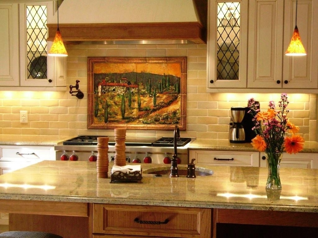Italian Art Tuscan Kitchen Wall Decor Ideas Intended For Tuscan Pertaining To Current Italian Wall Art For The Kitchen (Gallery 4 of 15)