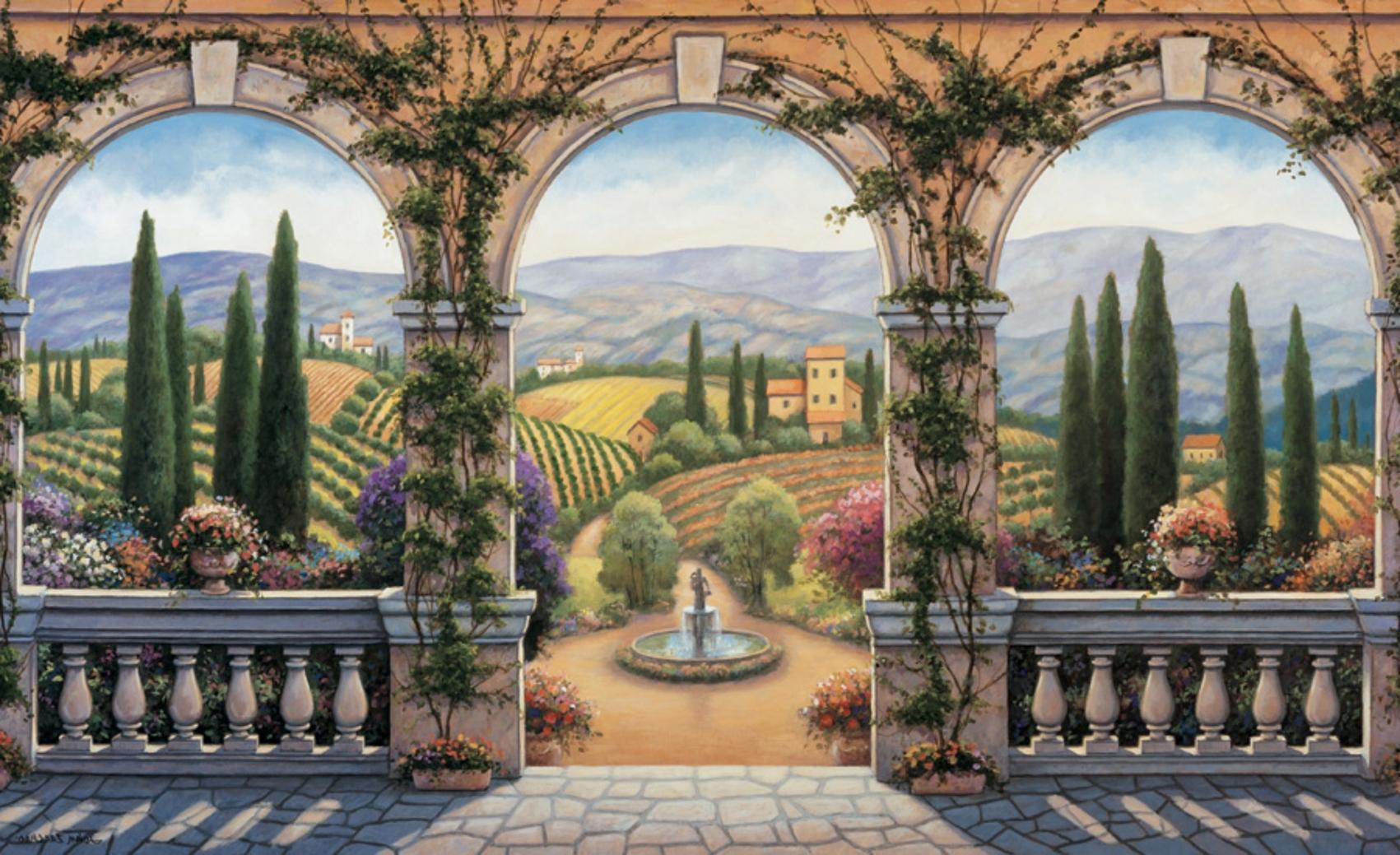 Italian Art Wall Murals Pertaining To Well Known Chuyên Mục Http://tranhdaqui (View 14 of 15)
