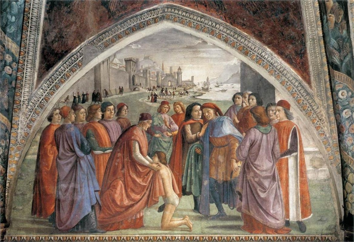 Italian Renaissance Wall Art Within Recent Renunciation Of Worldly Goods, 1482 1485 Domenico Ghirlandaio (View 4 of 15)