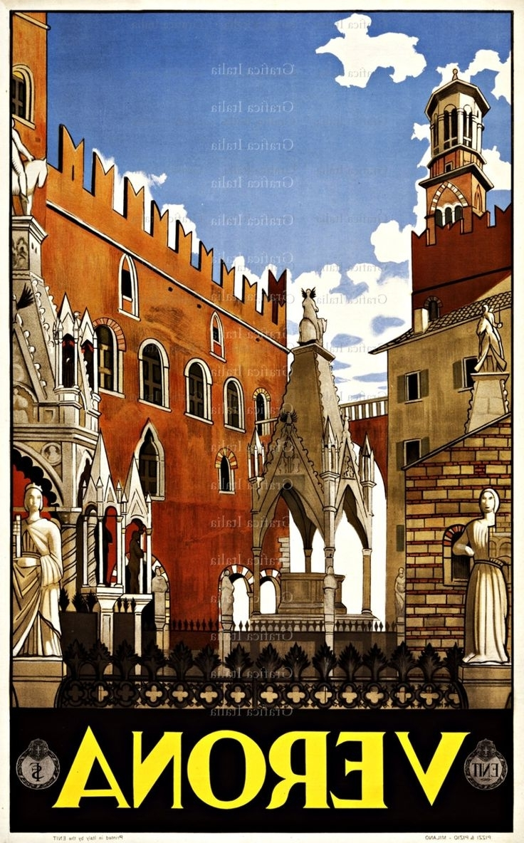 Italian Travel Wall Art Throughout Popular 40 Best Printsgood Girl Cards Dot Com Images On Pinterest (View 9 of 15)