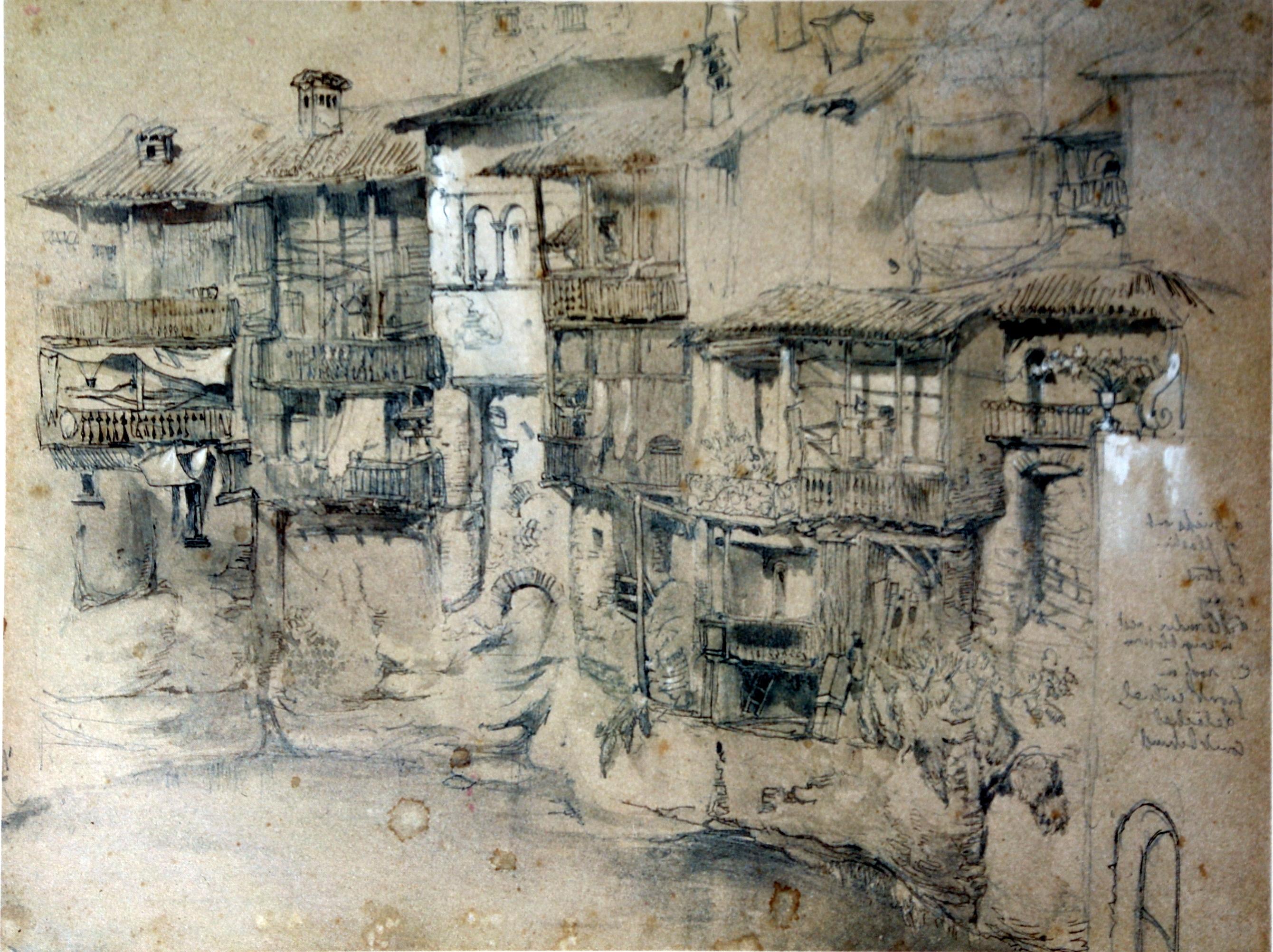 Italian Village Wall Art Regarding Latest File:an Italian Village Ruskin – Wikimedia Commons (Gallery 3 of 15)
