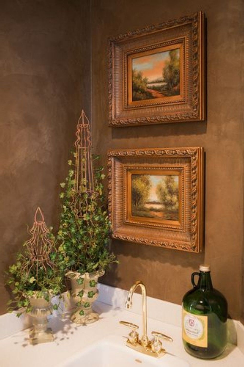 Italian Wall Art For Bathroom Intended For Most Up To Date Nice 82 Luxurious Tuscan Bathroom Decor Ideas Https (Gallery 9 of 15)