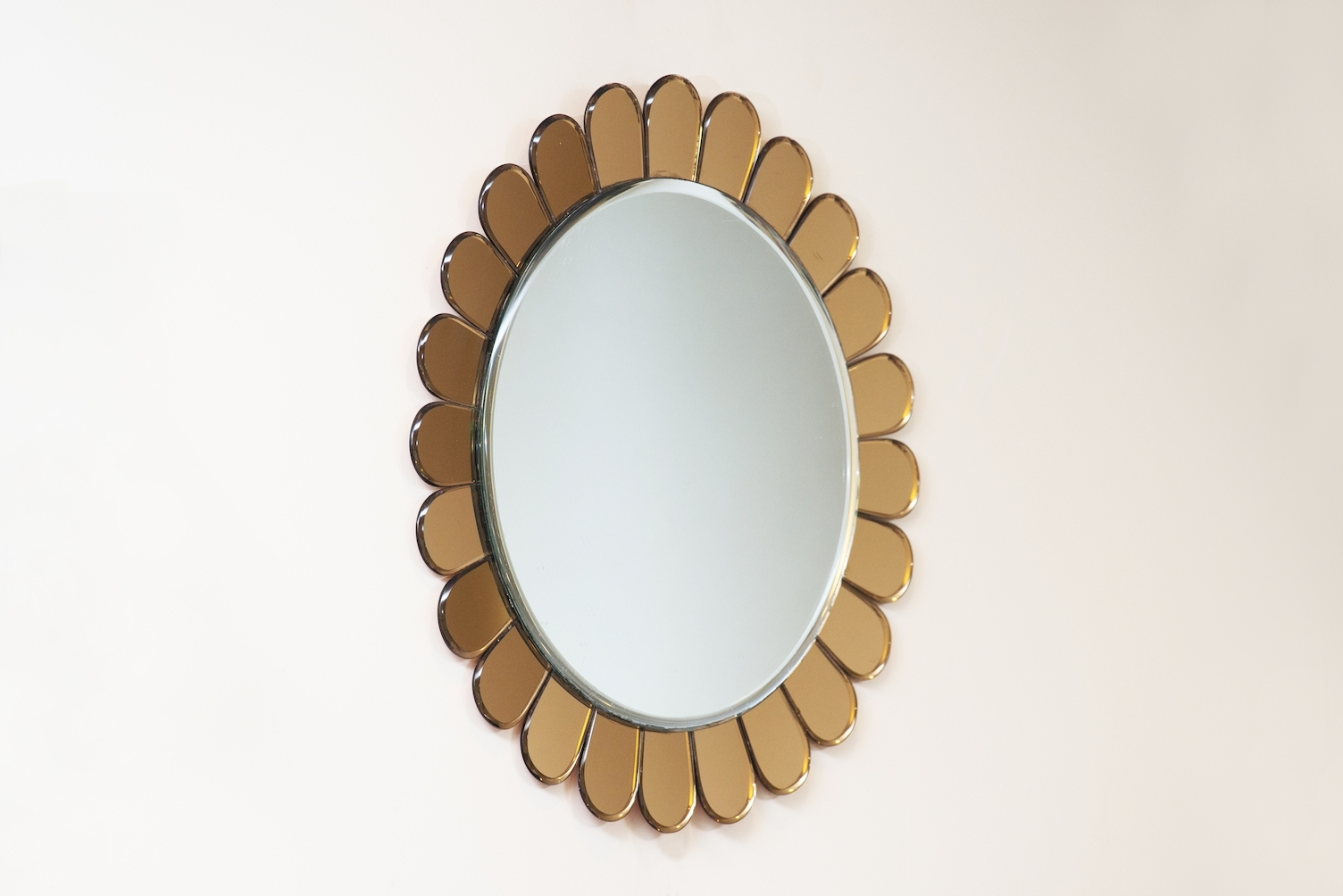 Italian Wall Mirror From Cristal Art, 1950S For Sale At Pamono For 2017 Italian Wall Art For Sale (View 6 of 15)