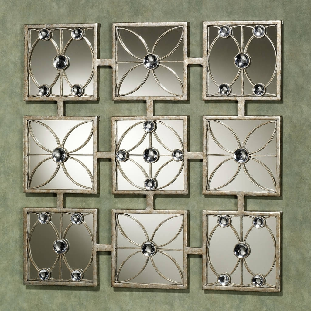 Jeweled Metal Wall Art Within Most Popular Starburst Wall Decor (View 7 of 15)