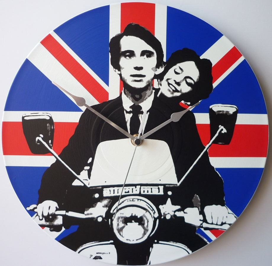 "Jimmy – Quadrophenia 12"" Lp Vinyl Record Clock, Pop Art, Canvas In Most Recently Released Quadrophenia Wall Art (Gallery 1 of 15)"