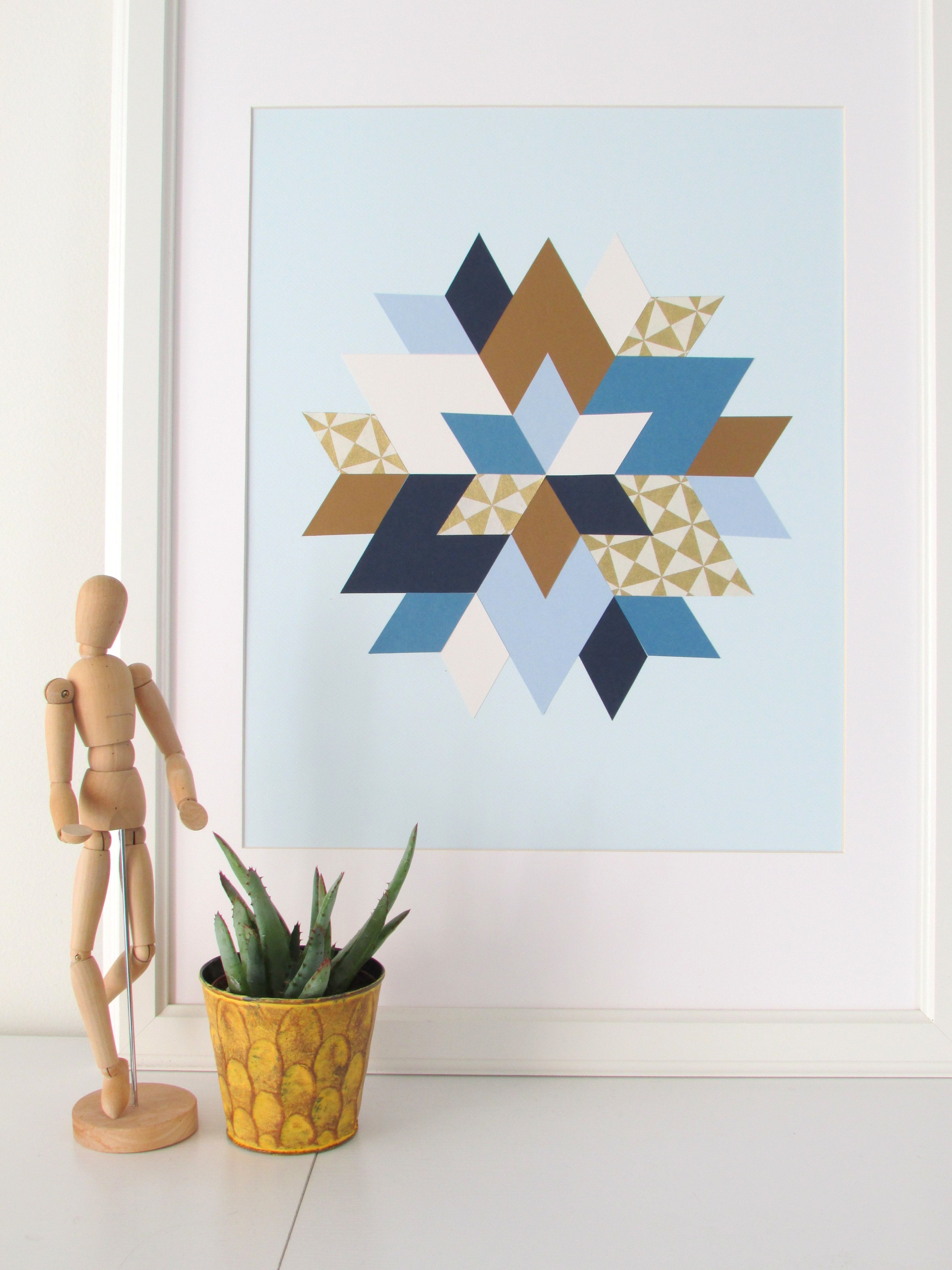 Kaleidoscope Wall Art Pertaining To Popular Kaleidoscope Inspired Paper Art – Francois Et Moi (View 8 of 15)