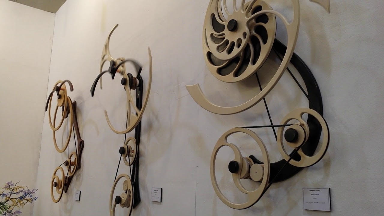 Kinetic Wood Sculpture, Moving Art – Youtube Regarding Most Up To Date Kinetic Wall Art (View 10 of 15)