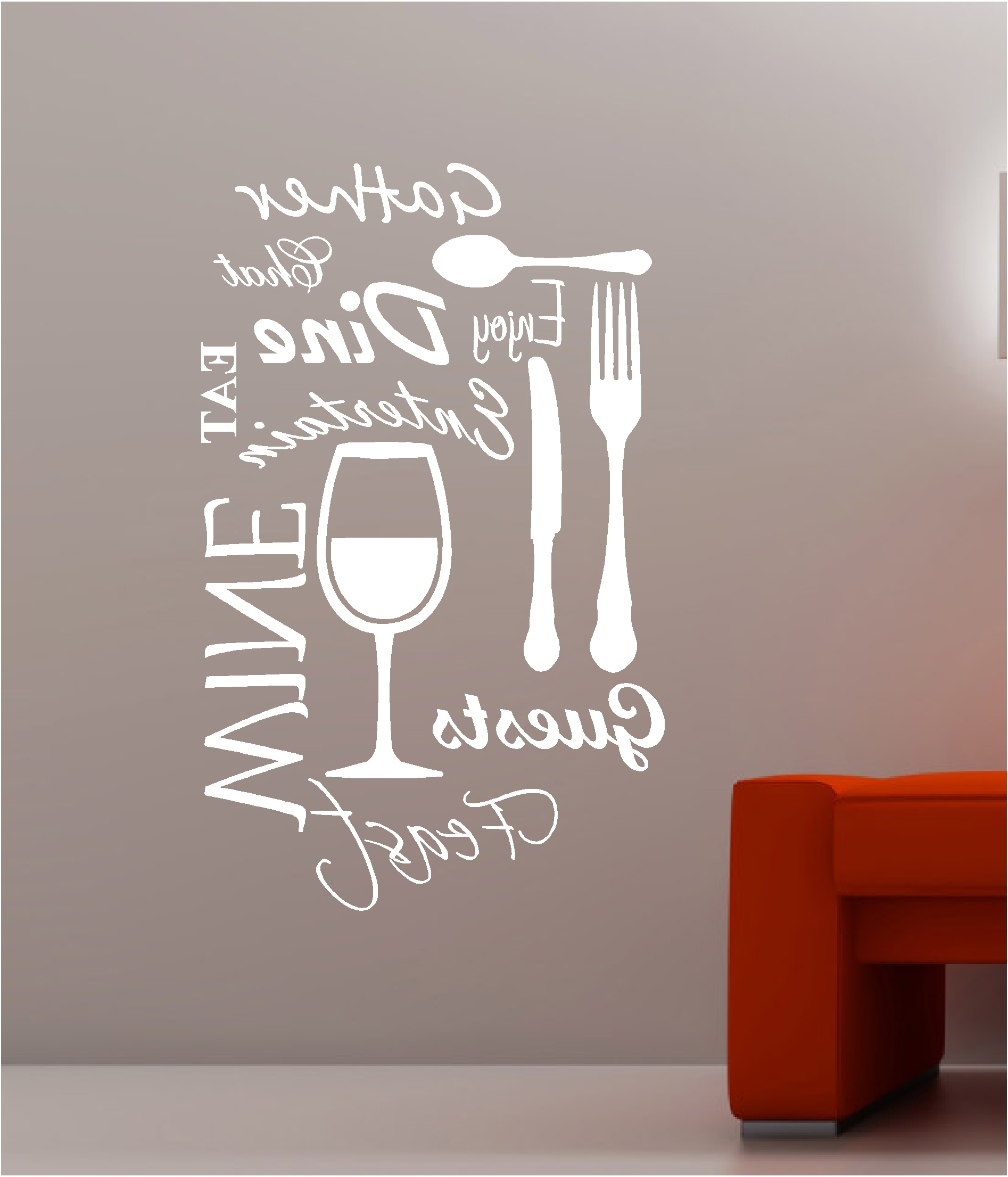 Kitchen Sink And Kitchen Wall Decor (Gallery 2 of 15)