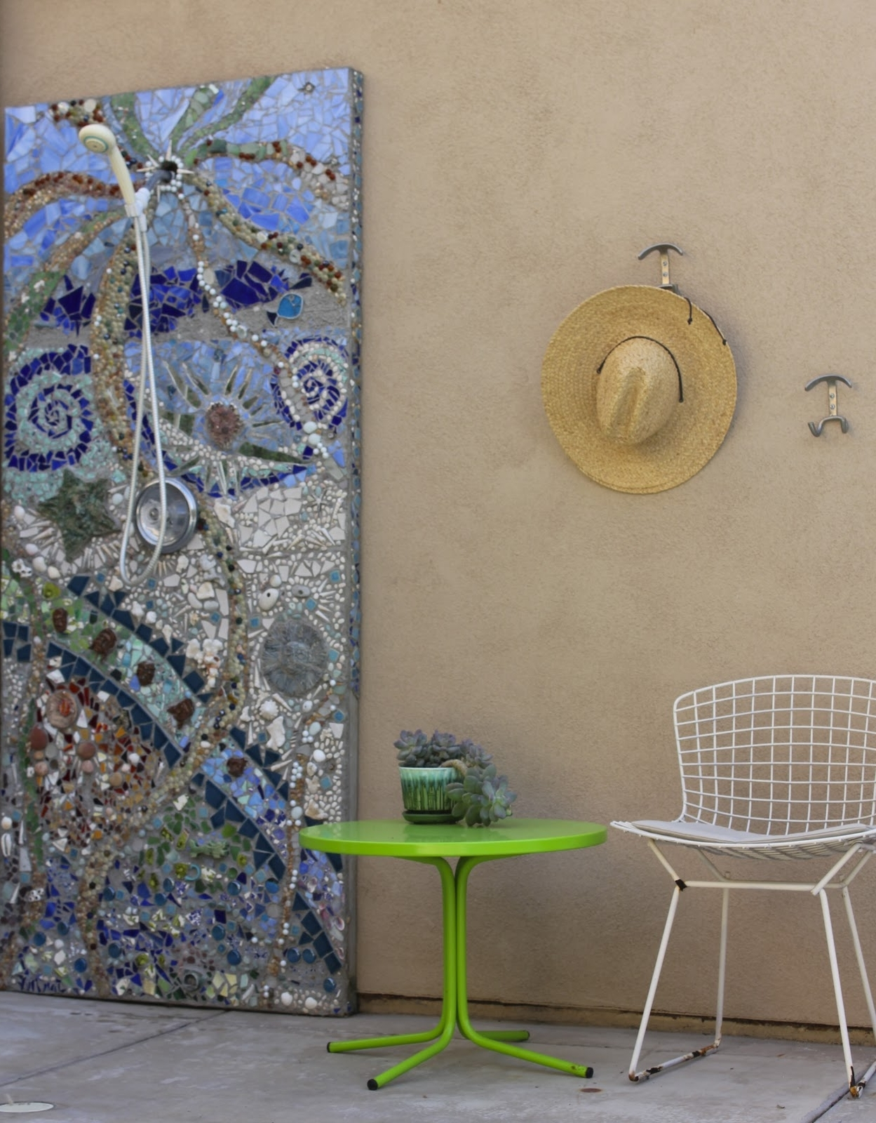 Laguna Dirt With Diy Mosaic Wall Art (View 6 of 15)