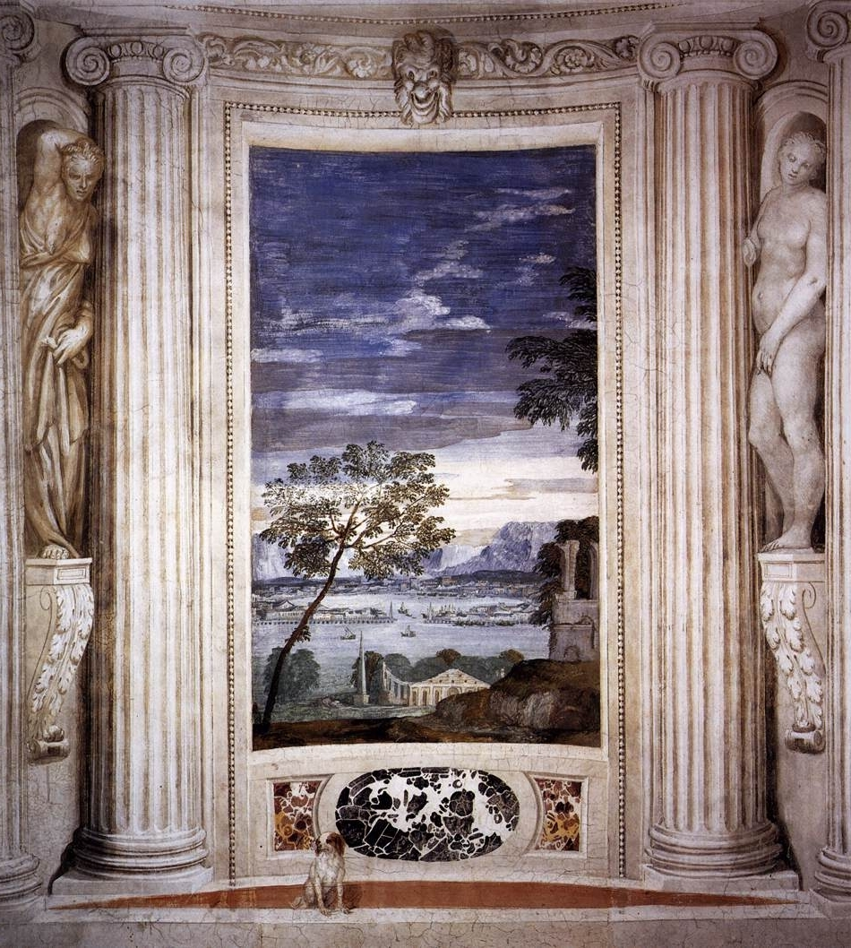 Landscape With Harbour 1560 61 Within 2018 Italian Villa Wall Art (View 9 of 15)