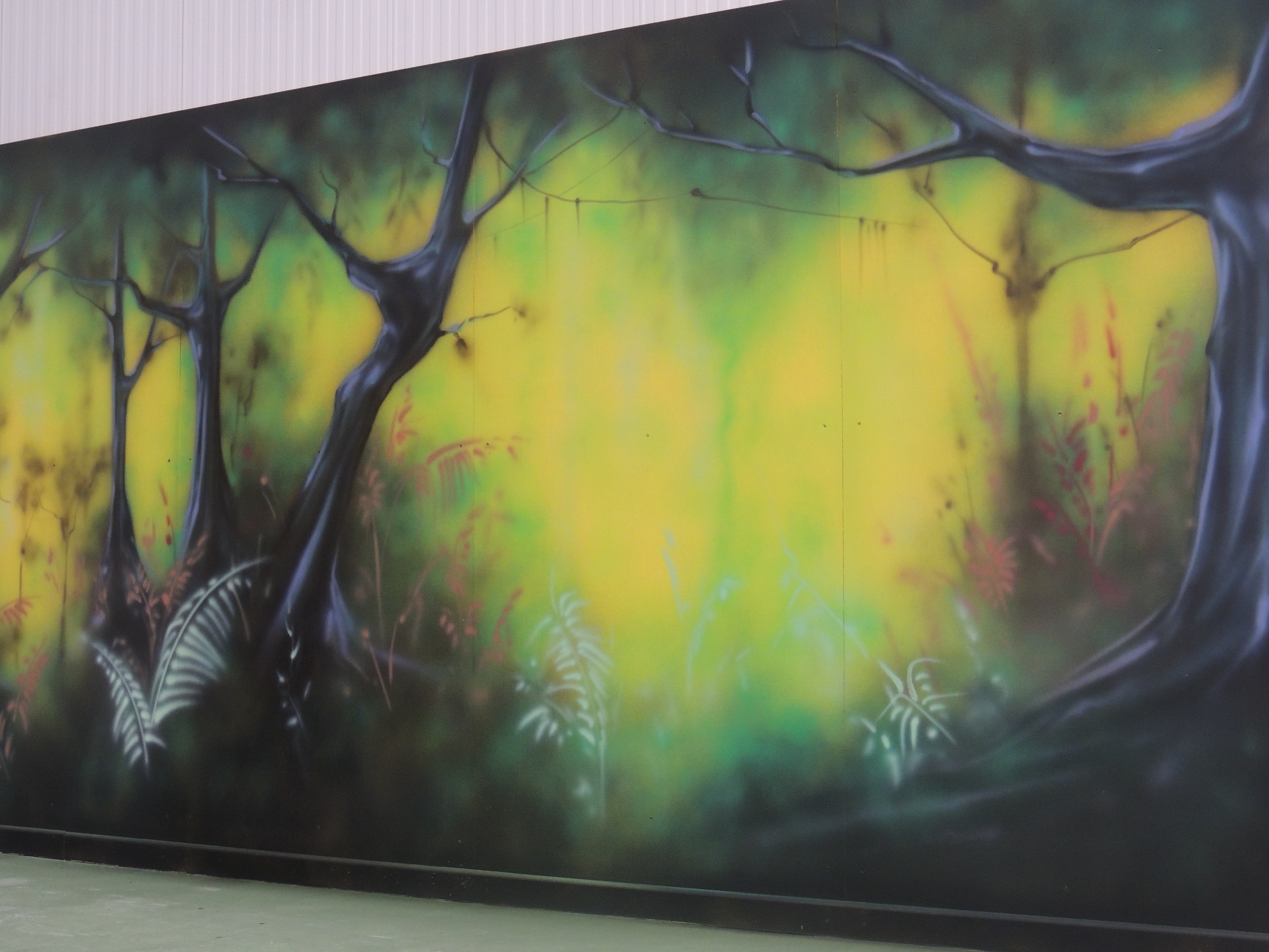 Landscaping Within Famous Airbrush Wall Art (View 8 of 15)