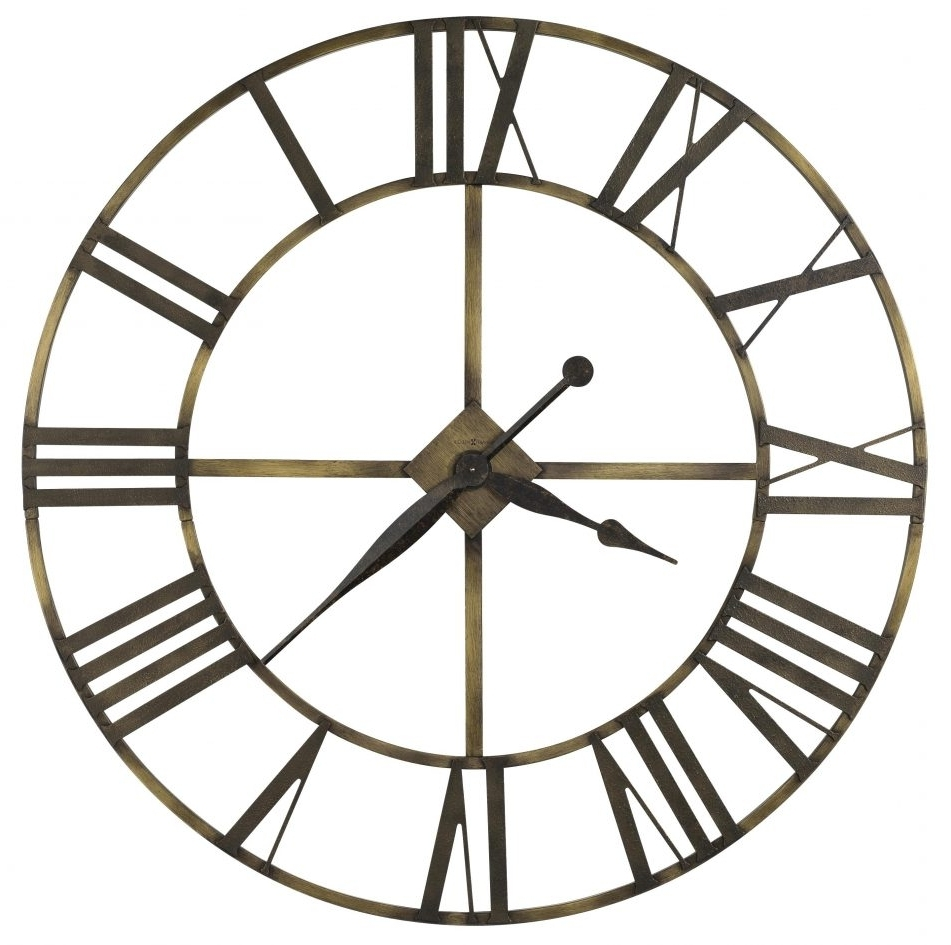 Large Art Deco Wall Clocks Within Well Known Wall Clocks : Art Deco Wall Clock Sticker Howard Miller Oversized (View 11 of 15)