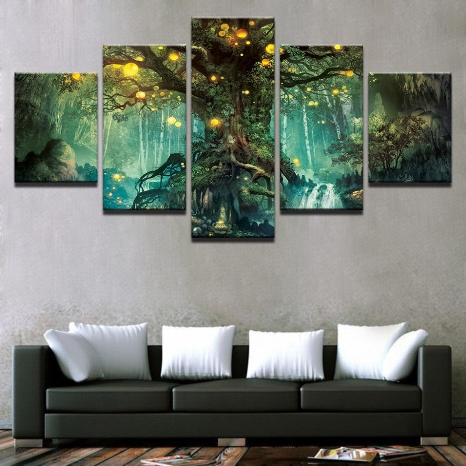 Large Canvas Prints From Digital Photos Large Wall Art Ideas Pertaining To Trendy Multi Canvas Wall Art (View 7 of 15)