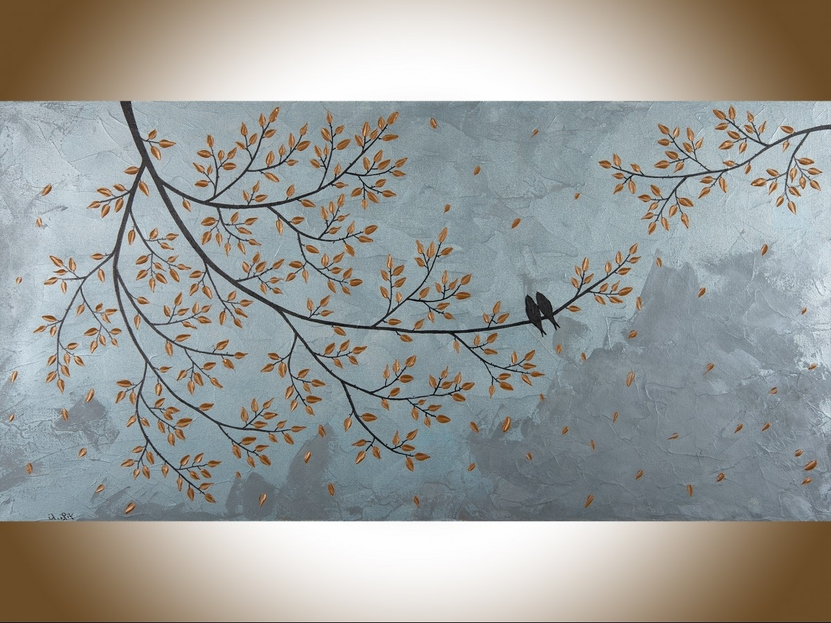 """Large Copper Wall Art Throughout Well Known Love And Romanceqiqigallery 48"""" X 24"""" Copper Art Copper Wall (View 6 of 15)"""