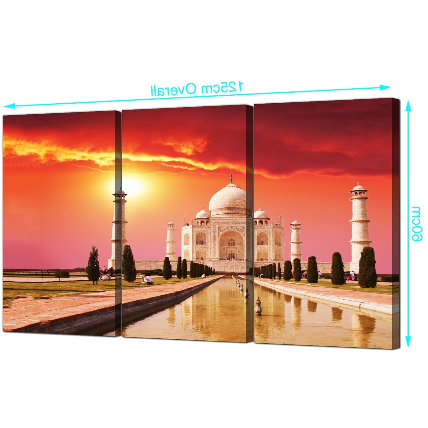 Featured Photo of Taj Mahal Wall Art