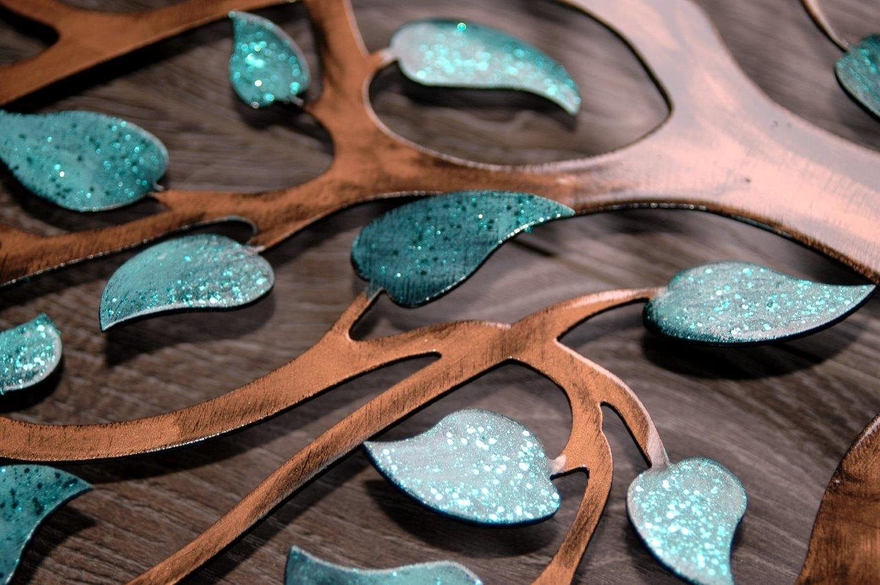 Large Metal Wall Art. Aspen Trees. Rustic Home Decor (View 13 of 15)
