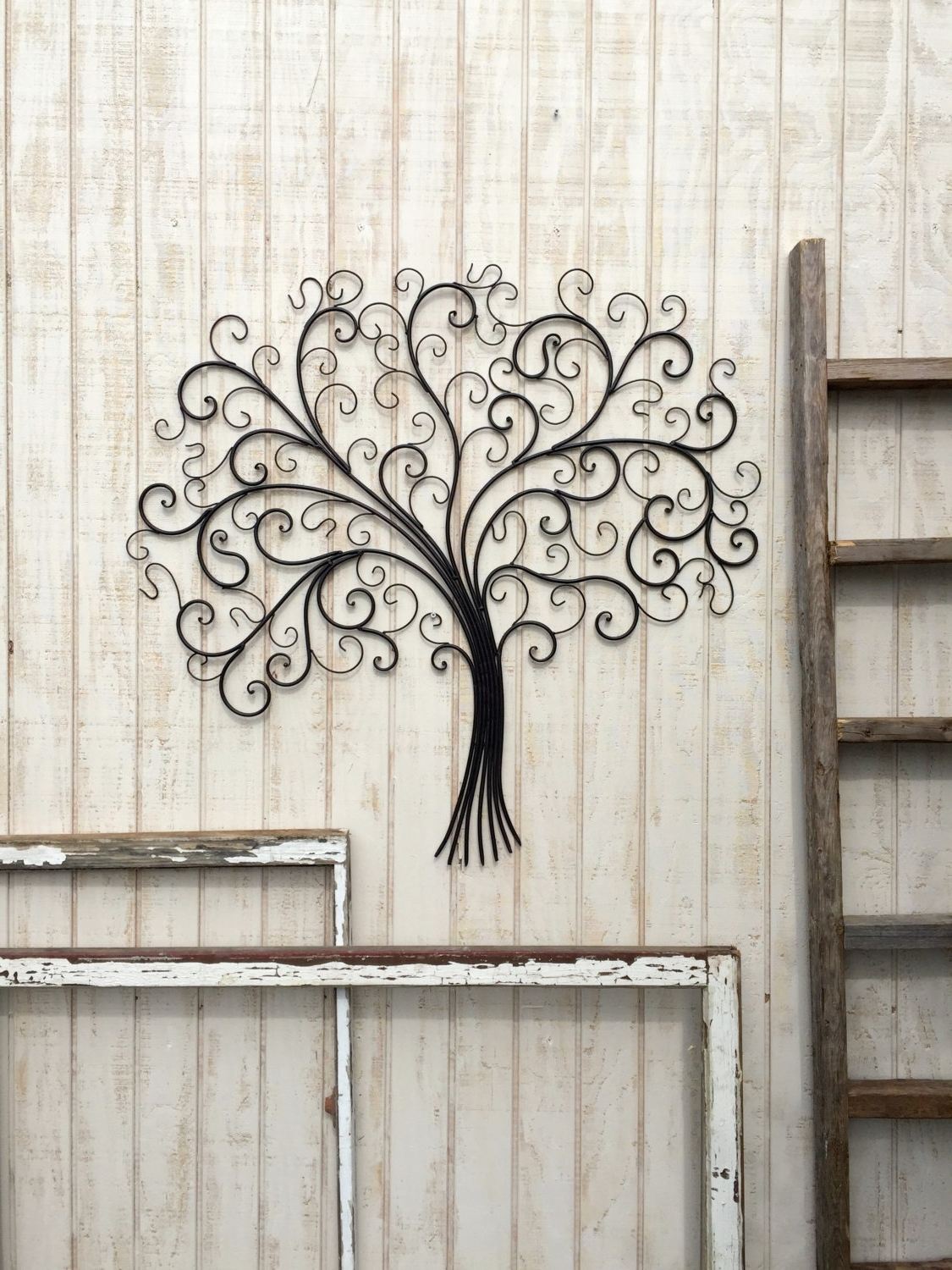Large Wrought Iron Wall Art With Most Current Large Metal Wall Art Flowers : Great Ideas Large Metal Wall Art (View 10 of 15)