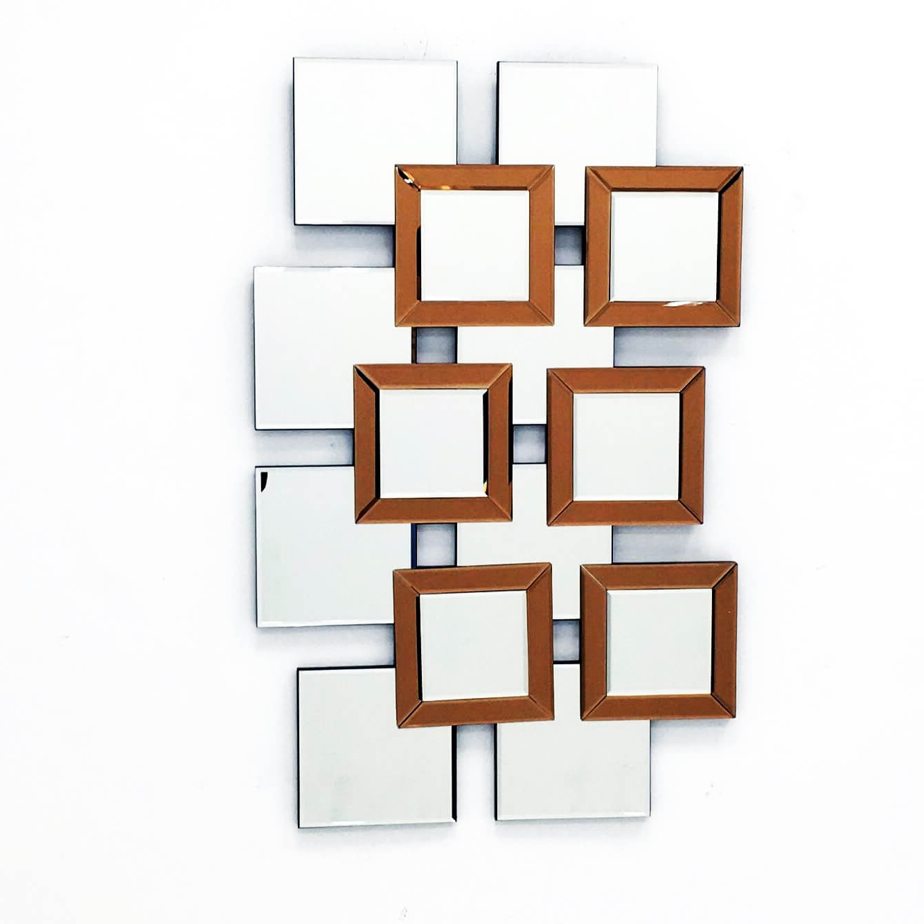 L'artiste – Modern Mirror Wall Art Design L  (View 3 of 15)