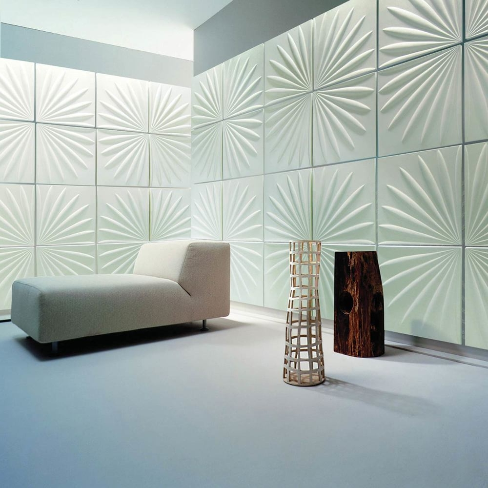 Latest 3D Wall Panels — Atlam Designer Laminates Pertaining To 3D Wall Panels Wall Art (View 7 of 15)
