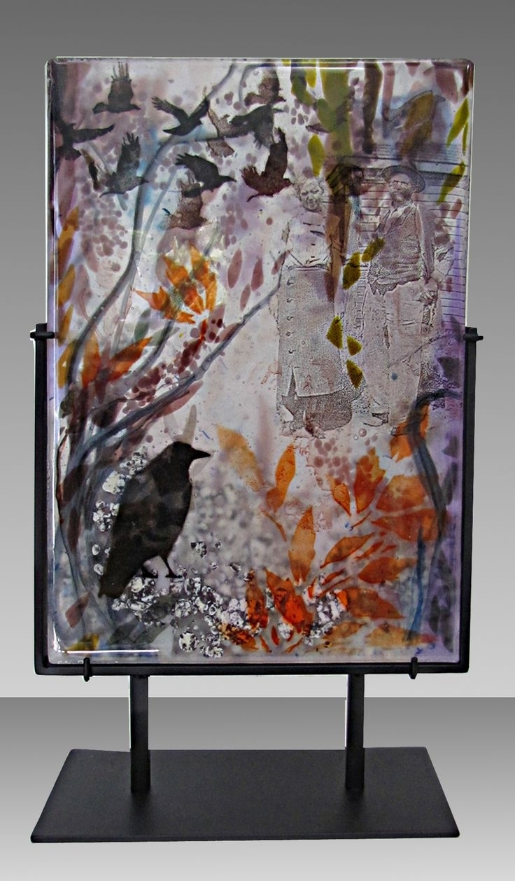 Latest 569 Best Fused Glass Sculpture Images On Pinterest (View 10 of 15)