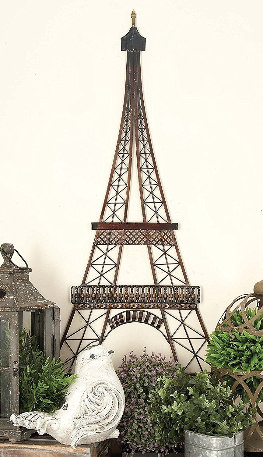 Latest Deco 79 97988 Metal Wall Decor To Make The Es In Previous Photo Eiffel Tower