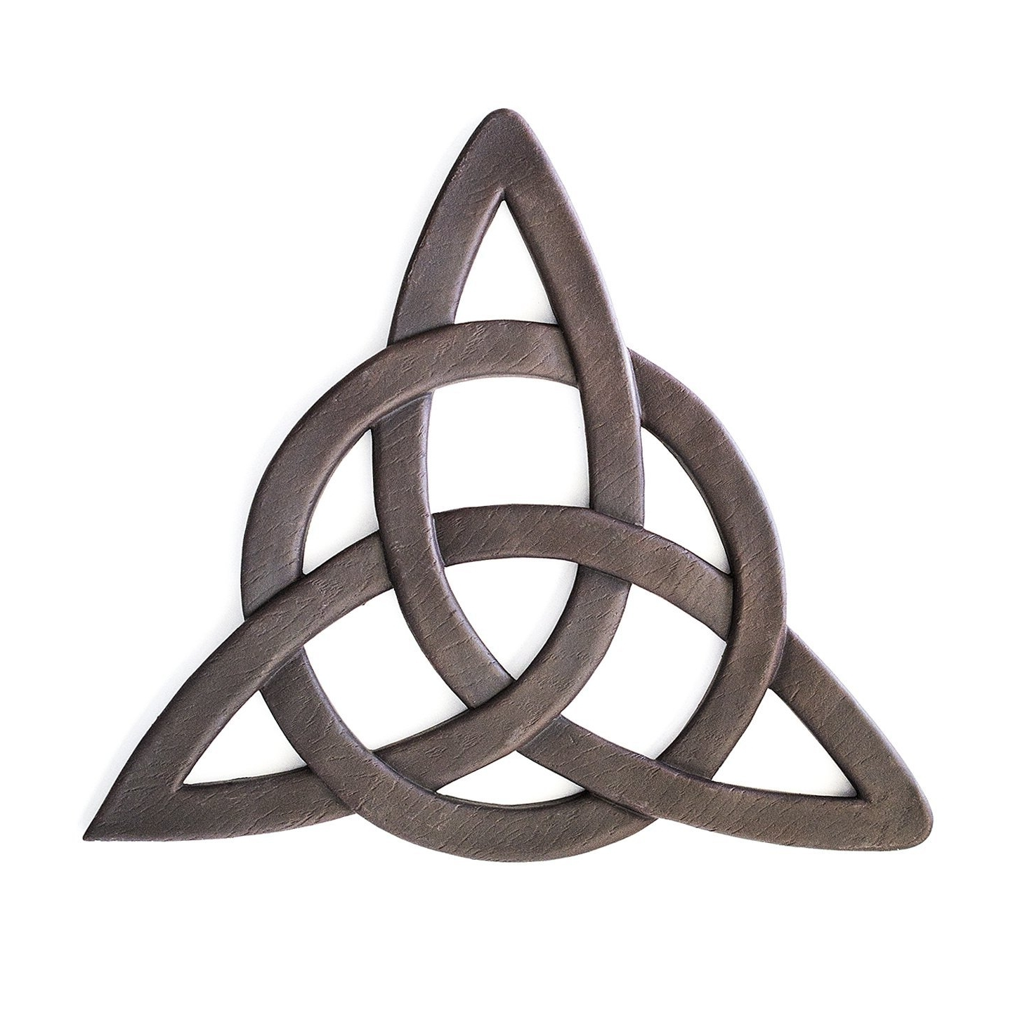 Latest Amazon: Resin Celtic Trinity Knot Wall Art For Home Decoration Pertaining To Ireland Metal Wall Art (View 8 of 15)