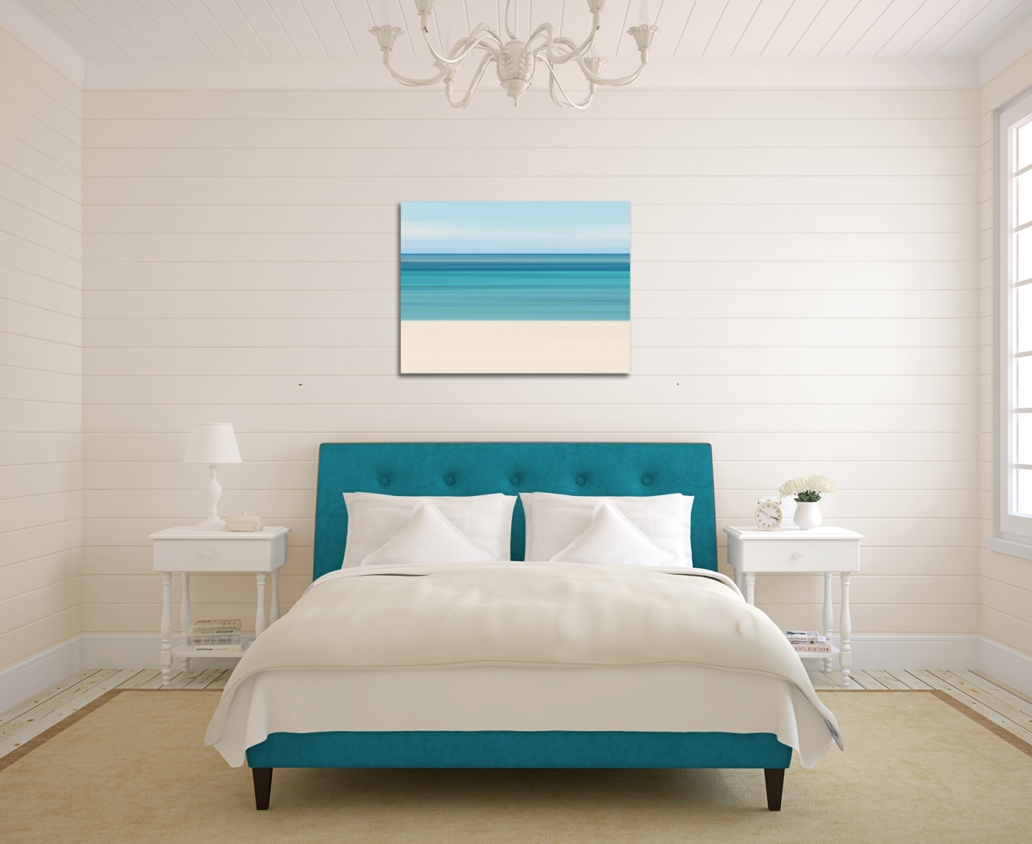 Latest Beach Themed Wall Art Inside 24X36 Canvas Gallery Wrap Abstract Photo Ocean Caribbean Beach (View 9 of 15)