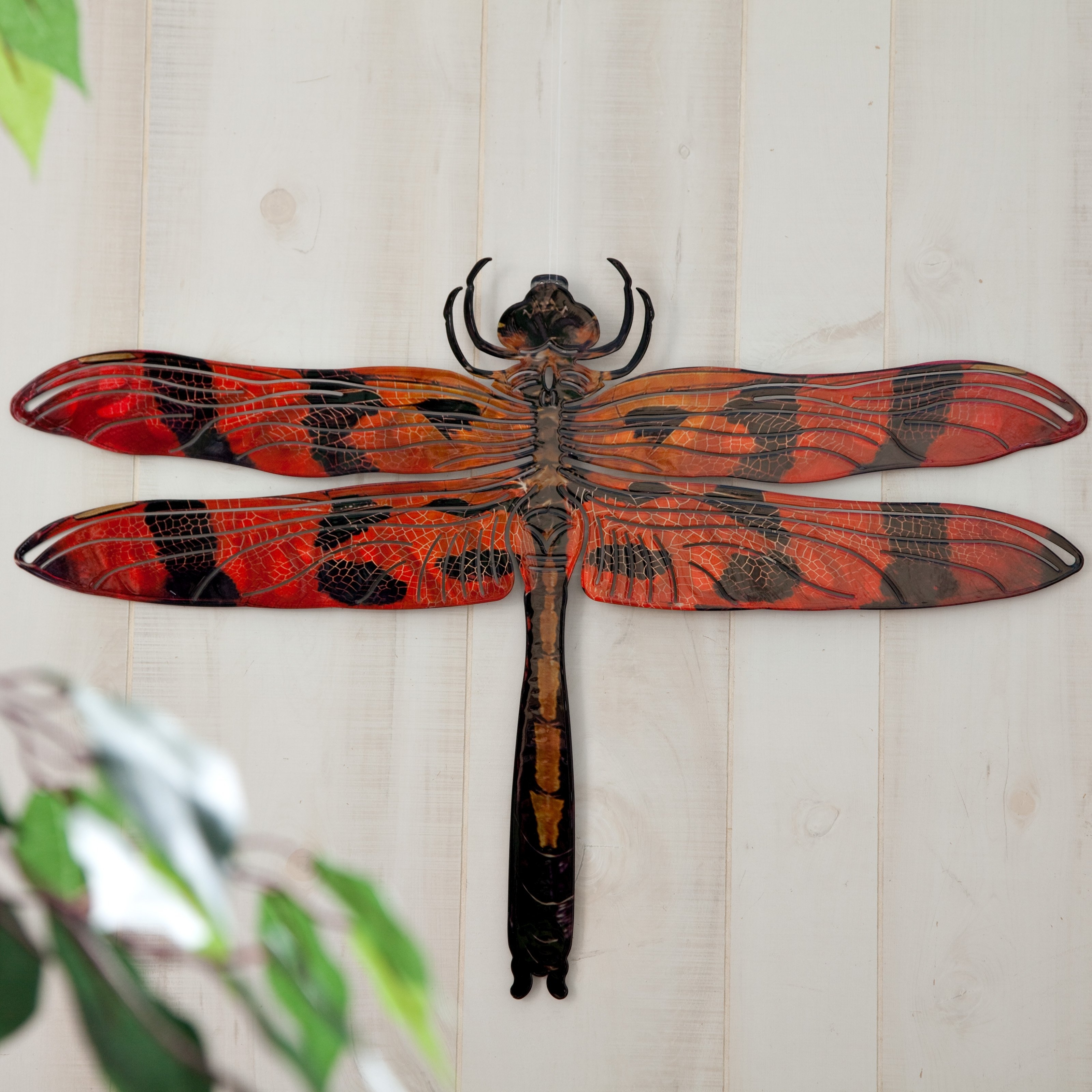 Latest Dragonfly 3D Wall Art Pertaining To 3D Dragonfly Metal Outdoor Wall Art (View 10 of 15)