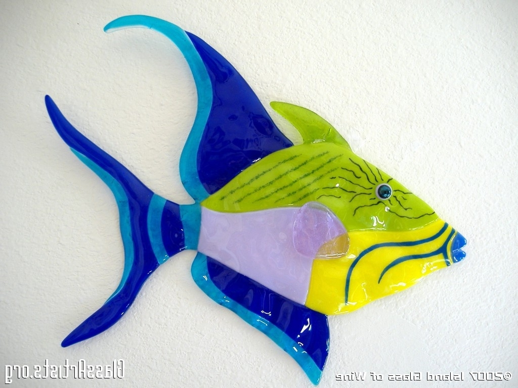 Latest Fused Glass Wall Art « { Kiln Formed Glass Art } – Glass Artists In Fused Glass Fish Wall Art (View 4 of 15)