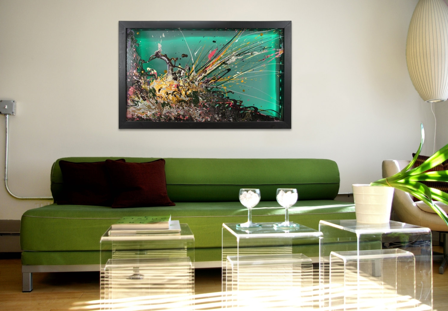 Latest Glass Abstract Wall Art Regarding Wall Art Design: Unusual Wall Art Glass Wall Art Large Abstract (View 7 of 15)