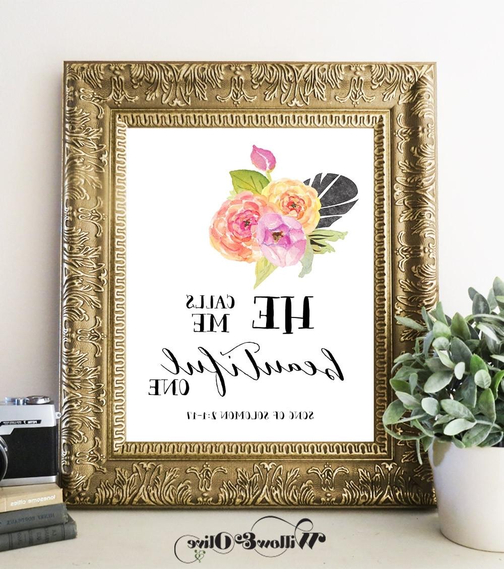 Featured Photo of Bible Verses Framed Art