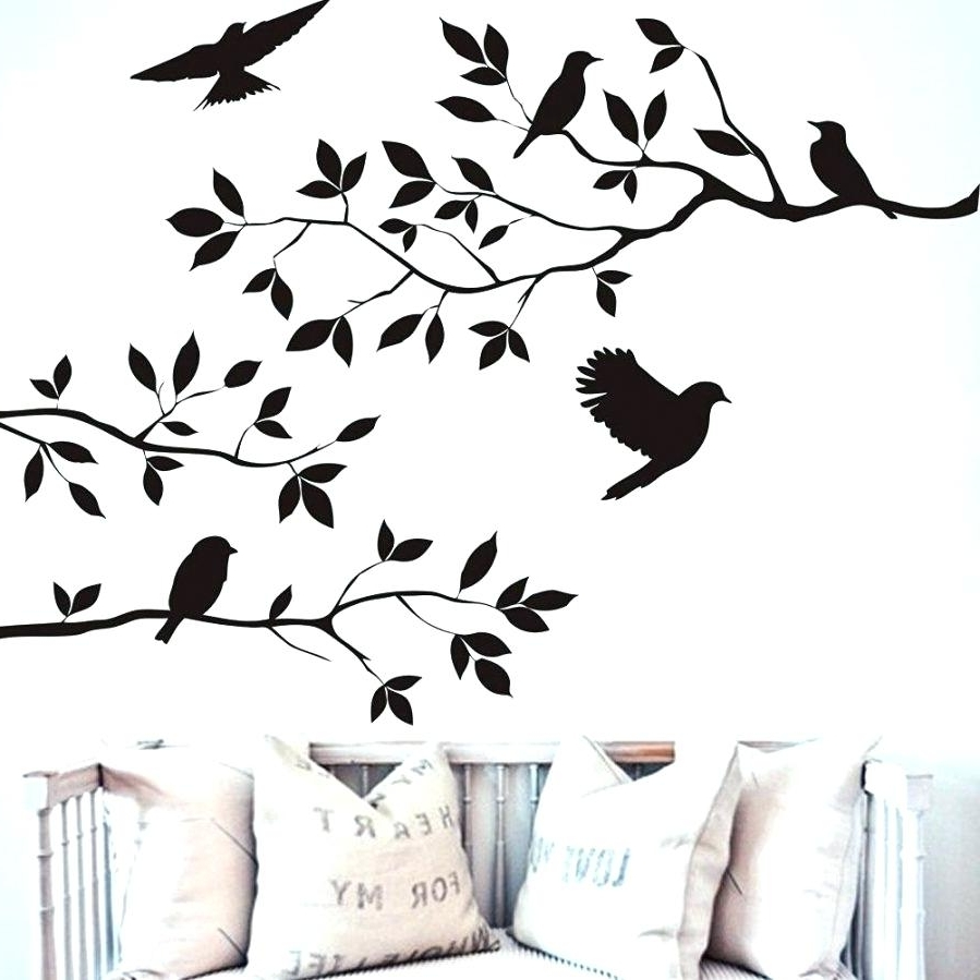 Latest Love Birds Wall Decal Wall Ideas Ceramic Flying Birds Wall Art Within Ceramic Bird Wall Art (View 10 of 15)
