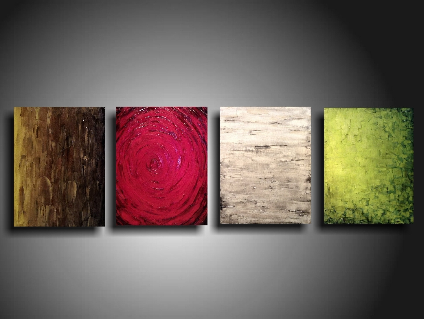 Latest Original Abstract Wall Art With Regard To Original Painting Home Decor Large Wall Art Sale Oil Industrial (Gallery 14 of 15)