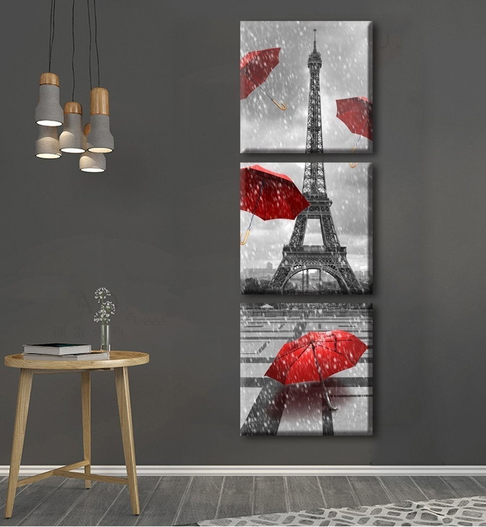 Latest Paris Wall Decor With Regard To Paris Themed Wall Art (Gallery 11 Of  15