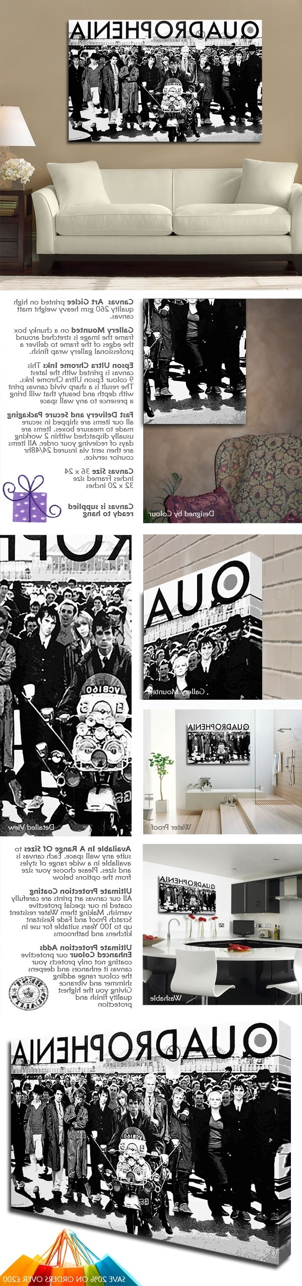 Latest Quadrophenia Wall Art With Quadrophenia Canvas (View 8 of 15)