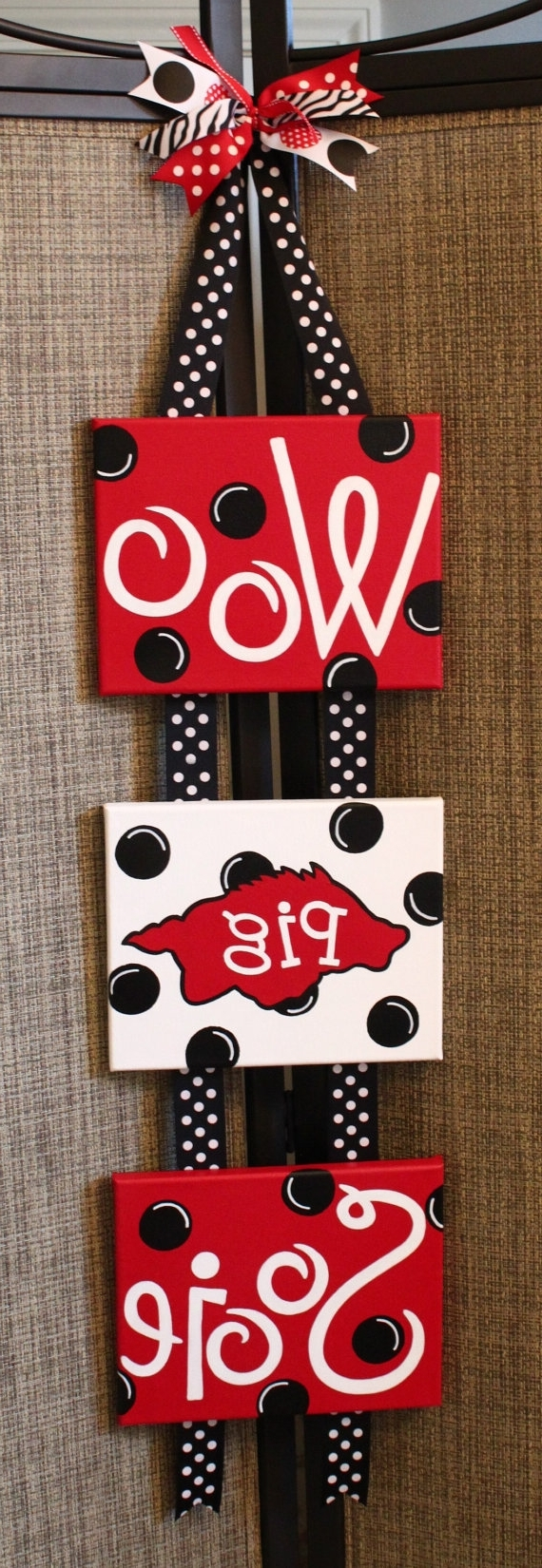 Latest Razorback Wall Art Throughout Items Similar To Arkansas Razorback Wall Hanging On Etsy– Maybe I (View 4 of 15)