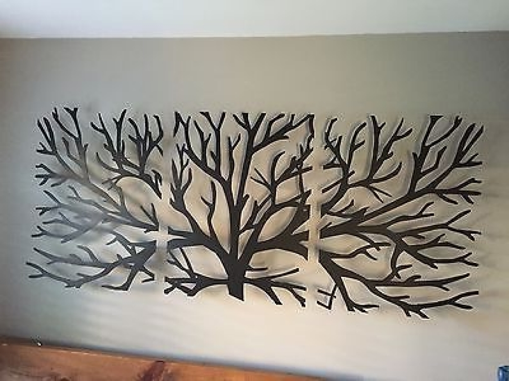 Latest Sculpture Wall Decor New Sculpture Wall Art 3D Metal Decor Modern In 3D Metal Wall Art (View 7 of 15)