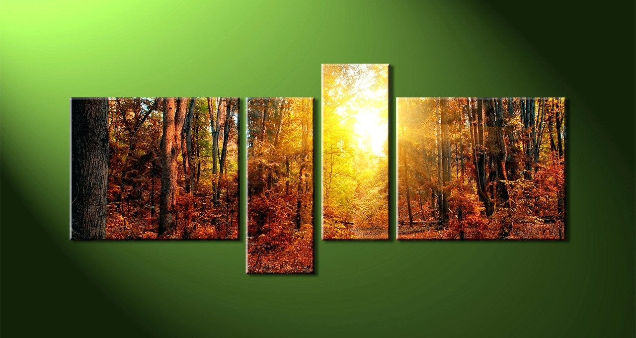 Latest Wall Arts ~ Nature Canvas Wall Art Abstract Nature Canvas Wall Art Intended For Abstract Nature Canvas Wall Art (View 8 of 15)