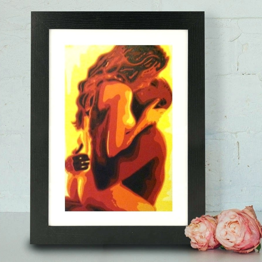 Latest Wall Arts ~ Sensual Couple Wall Art Find Sensual Art Wall Art Throughout Sensual Wall Art (View 1 of 15)