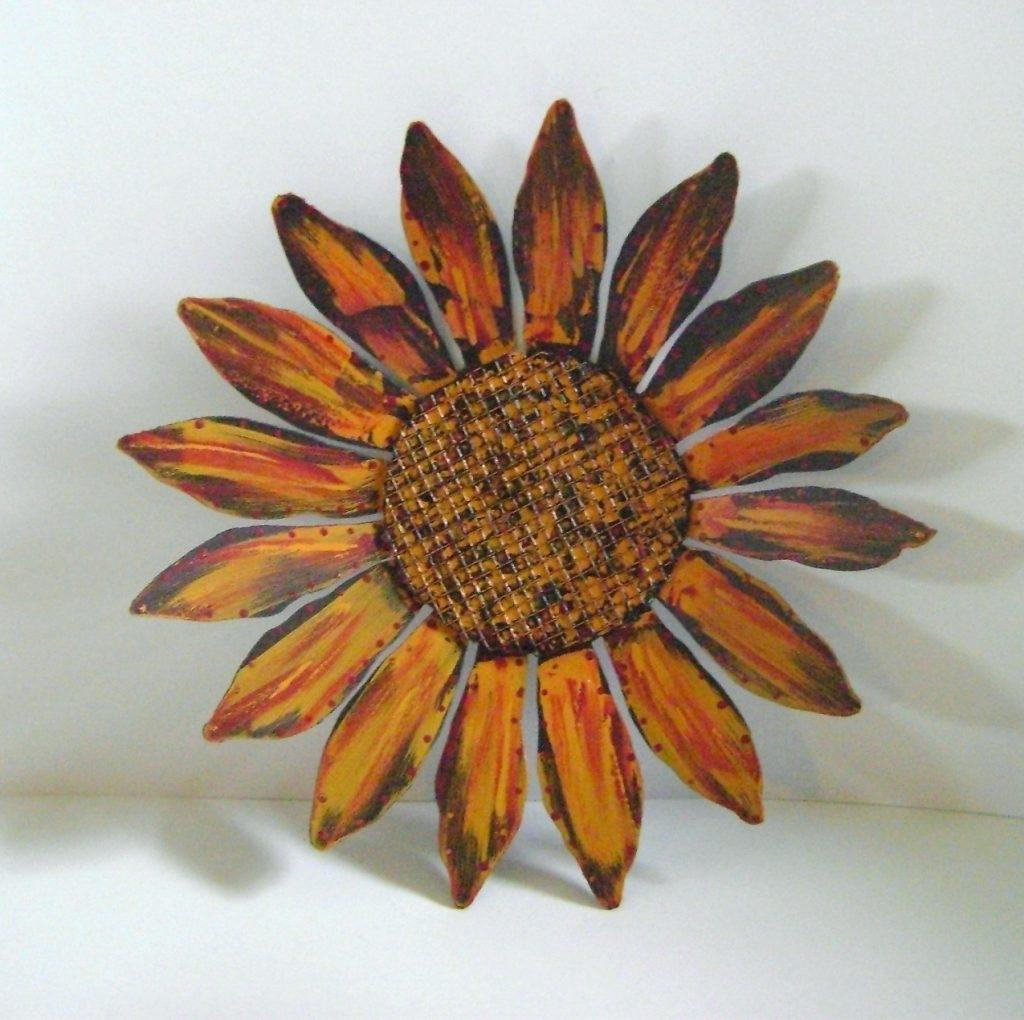 Latest Wall Arts ~ Sunflower Wall Art Canvas Sunflower Wall Art Uk Intended For Metal Sunflower Wall Art (View 4 of 15)