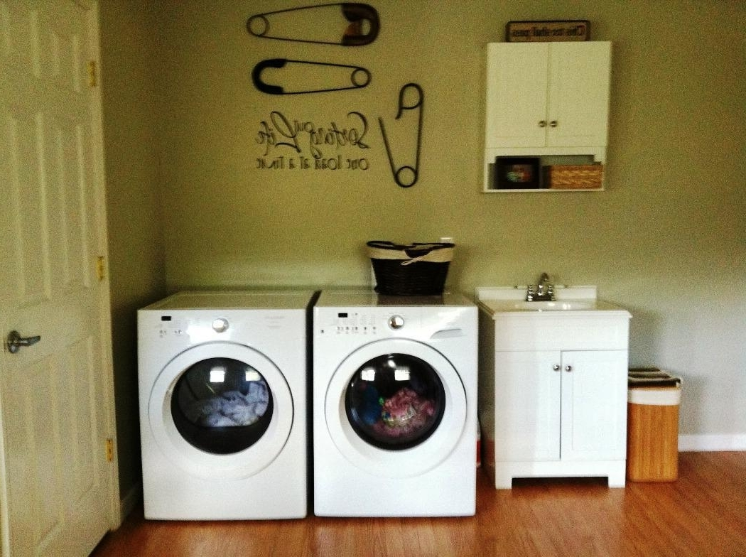Laundry Room Decor Wall Art — I Love Homes : Unique Laundry Room In Best And Newest Laundry Room Wall Art Decors (View 7 of 15)