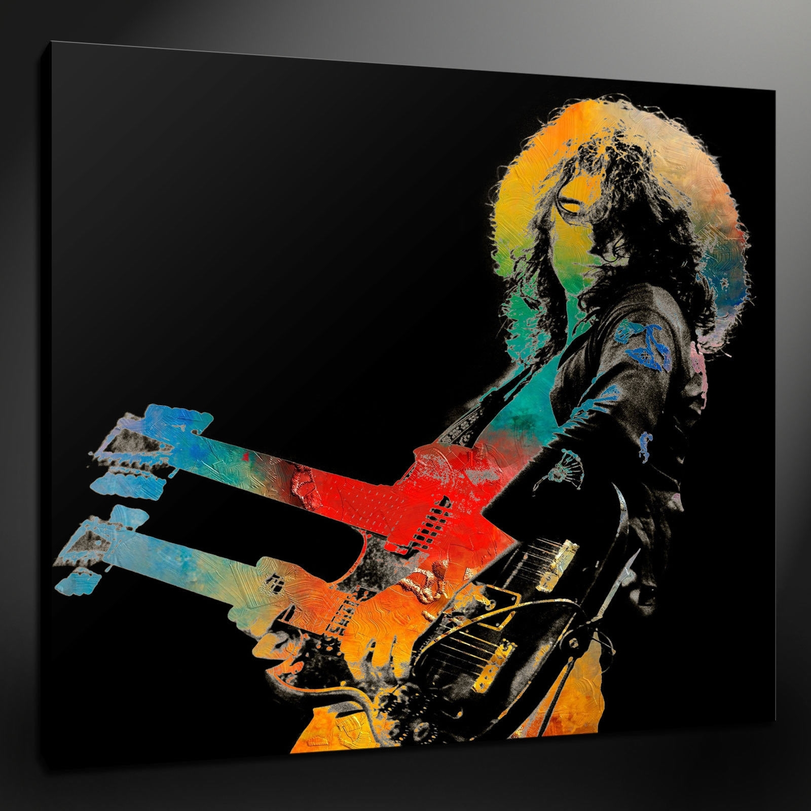 Led Zeppelin Wall Art Throughout Most Recent Canvas Print Pictures. High Quality, Handmade, Free Next Day Delivery (View 8 of 15)