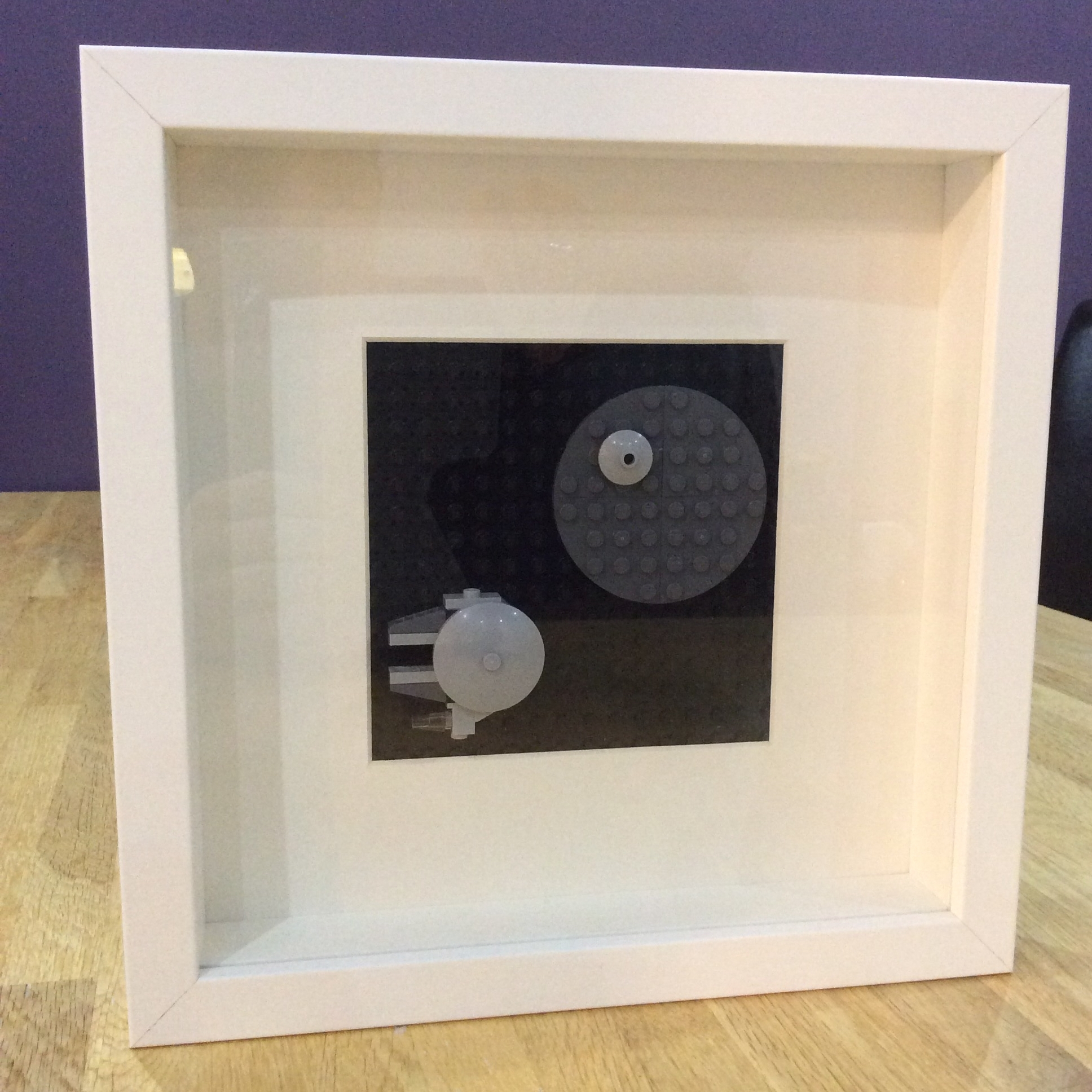 Lego Wall Art #starwars (Using Ikea Ribba Frame) (View 6 of 15)