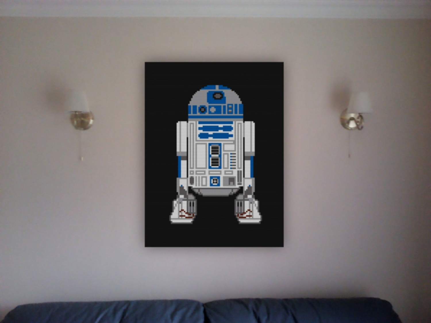 Featured Photo of Lego Star Wars Wall Art