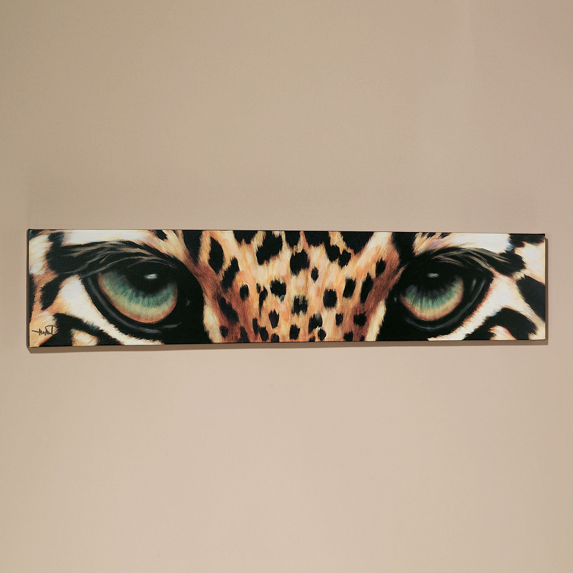 Leopard Eyes Canvas Art For Famous Burgundy Wall Art (View 8 of 15)