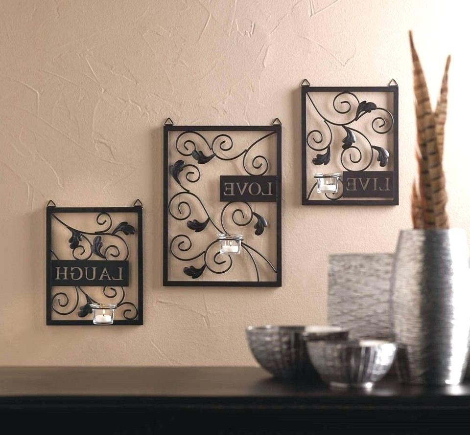 Featured Photo of Live Love Laugh Metal Wall Art